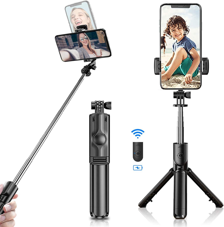 Selfie Stick Tripod 2021 Bluetooth Stic Extendable 40% OFF Cheap Sale Denver Mall Newest