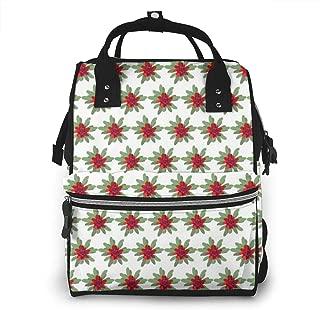Waratah White Multi-Function Travel Backpack Nappy Bag,Fashion Mummy Bag