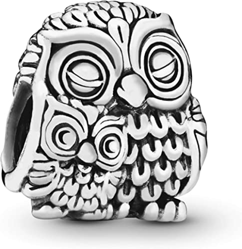Pandora Jewelry Charming Owls Sterling Silver Charm