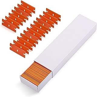 Ehdis Car Sticker Remover 100 PCS Plastic Razor Blades Edges for Plastic Blade Triumph 1.5