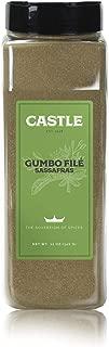 Castle Foods | GUMBO SASSAFRAS SEASONING, 12 oz Premium Restaurant Quality