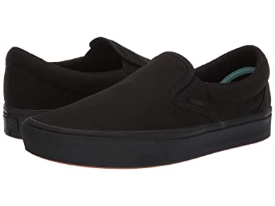 Vans ComfyCush Slip-On ((Classic) Black/Black) Athletic Shoes