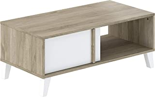AmazonBasics - Mesa de centro 100 x 50 x 40 cm blanco