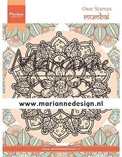 Marianne Design Tampons Transparents, Don et Daisy, Mandala mumbai, pour Loisirs Créatifs d'emboutissage et Scellé, En pla...