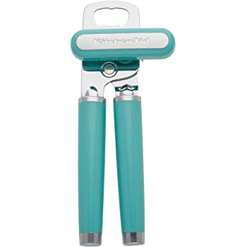 KitchenAid KE199OHAQA Classic Multifuction Can Opener, One Size, Aqua Sky 2