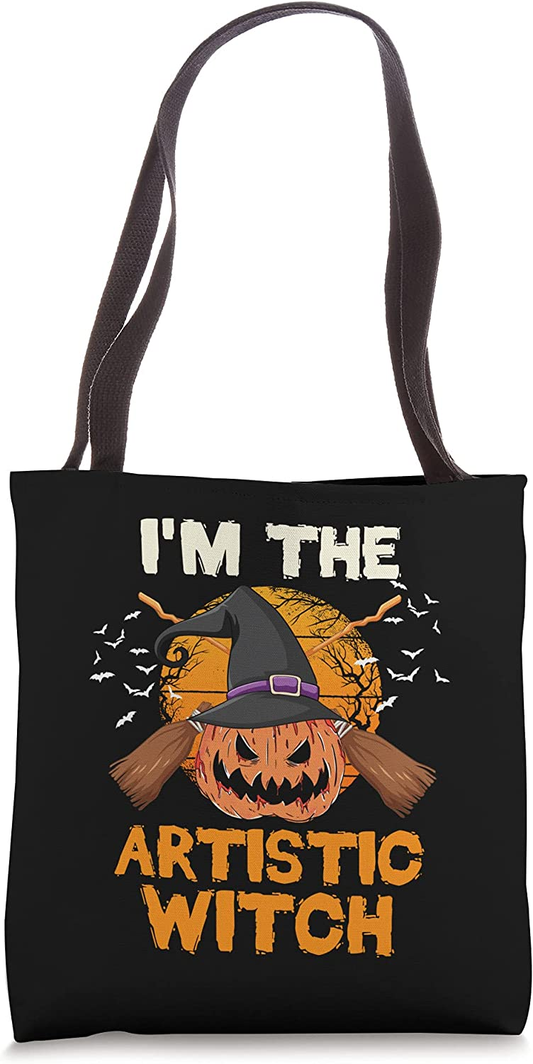 I'm The Max 84% OFF Artistic Witch Matching Halloween Selling and selling Party Bag Family Tote