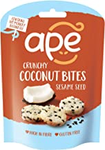 Ape Snacks Crunchy Coconut Bites with Sesame Seed 30g (Pack of 10)
