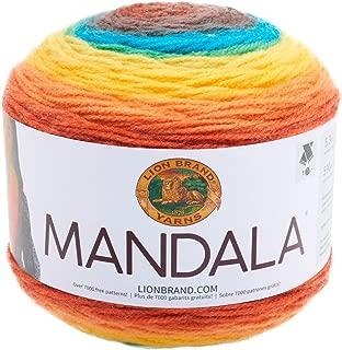 Lion Brand Yarn 525-207 Mandala Yarn, Thunderbird