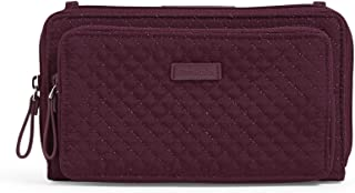 Vera Bradley Iconic Deluxe All Together Crossbody, Microfiber, Mulled Wine