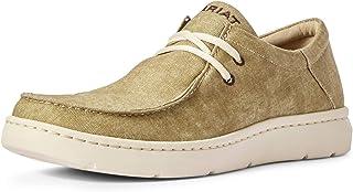 حذاء رجالي برباط من ARIAT مطبوع عليه Hilo Tumbleweed بني مقاس 9.5 D