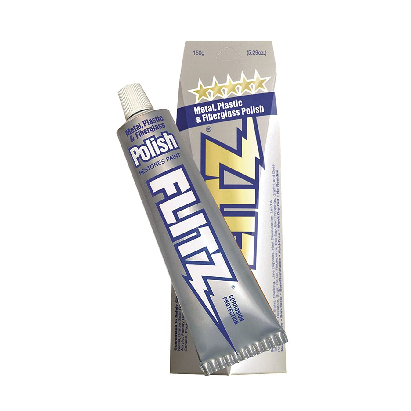 Flitz Polish - Paste - 5.29 oz. Boxed Tube