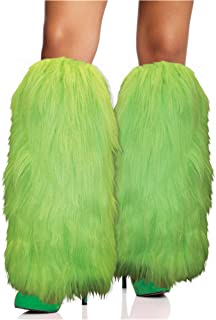 Furry Leg Warmers Costume Accessory