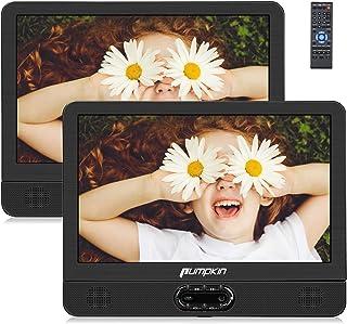 """comprar comparacion Pumpkin 12"""" DVD Portátil Coche 2 Pantallas, Reproductor para Reposacabezas de Coche/ TV de Casa para Niños en Viaje soport..."""