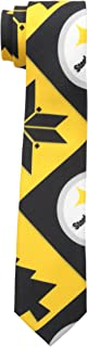 Pittsburgh Steelers Patches Ugly Printed Tie - Mens