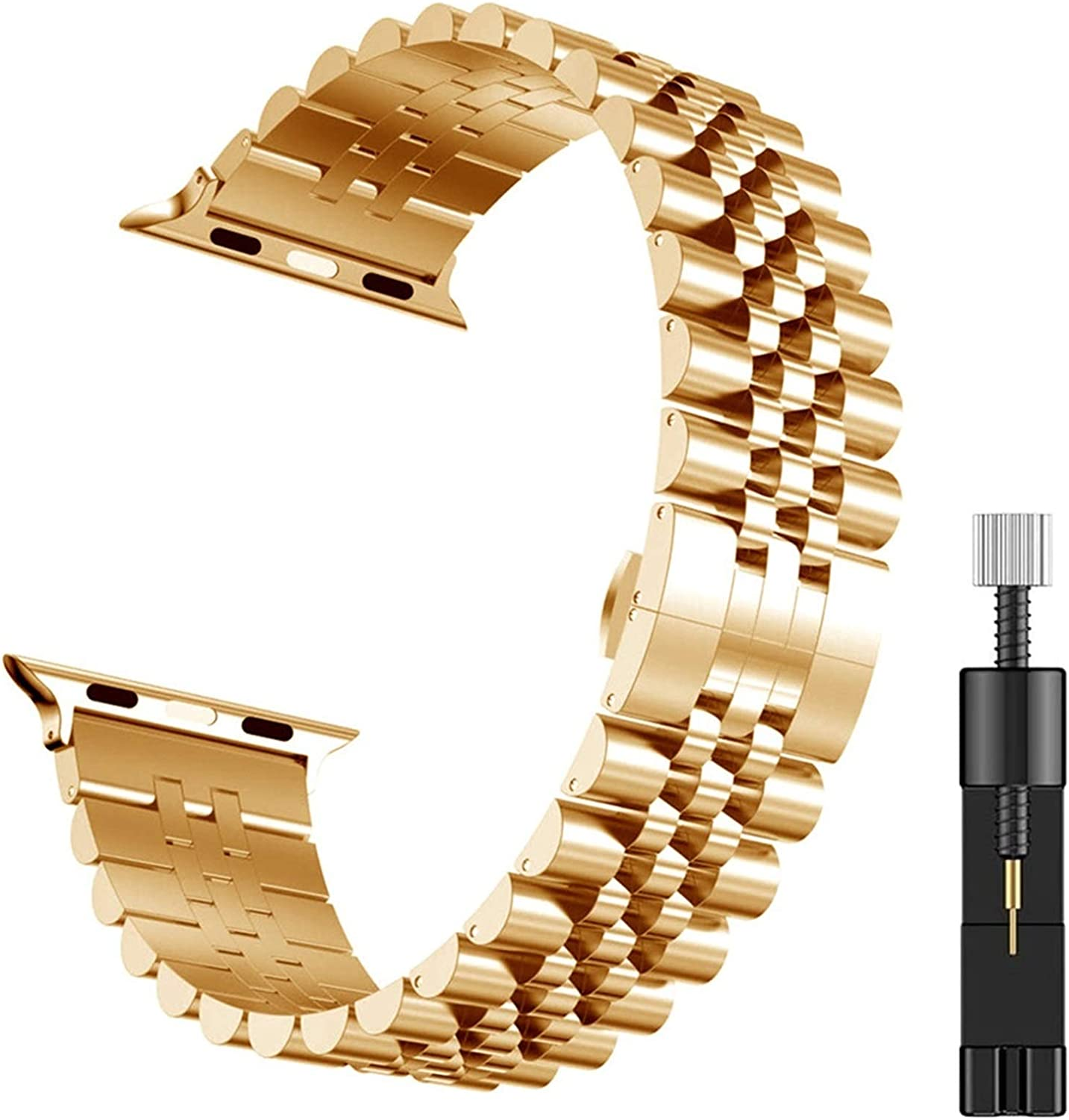 LLKHFA Wristband Clearance SALE! Limited time! for IWatch 2021 new 6 Steel 38mm Stainless 40mm Bracelet