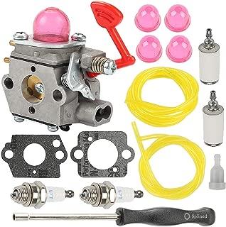 Allong 545081855 Carburetor + Adjustment Tool Vent for Craftsman Poulan Pro Blower McCulloch Blower MAC GBV325 M325 M320 MC200VS BVM200C BVM200VS P200C P325 200mph Blower 545081855 Tune Up Kit