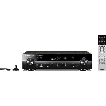 ヤマハ AVレシーバー RX-S602 5.1ch/4K/Bluetooth/Wi-Fi/ネットワークオーディオ/ハイレゾ音源対応 ブラック RX-S602(B)