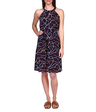 MICHAEL Michael Kors Sailor Twist Neck Dress Women