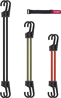 MAGMA Pack 6 Pulpos Elásticos Transporte   Tensor Cuerda Elástica para Coche, Moto, Bici, Camping, Portabicicletas, Remolques, Toldos y Lonas   Ganchos Acero Protegido 2 x (60cm,75cm,100cm)
