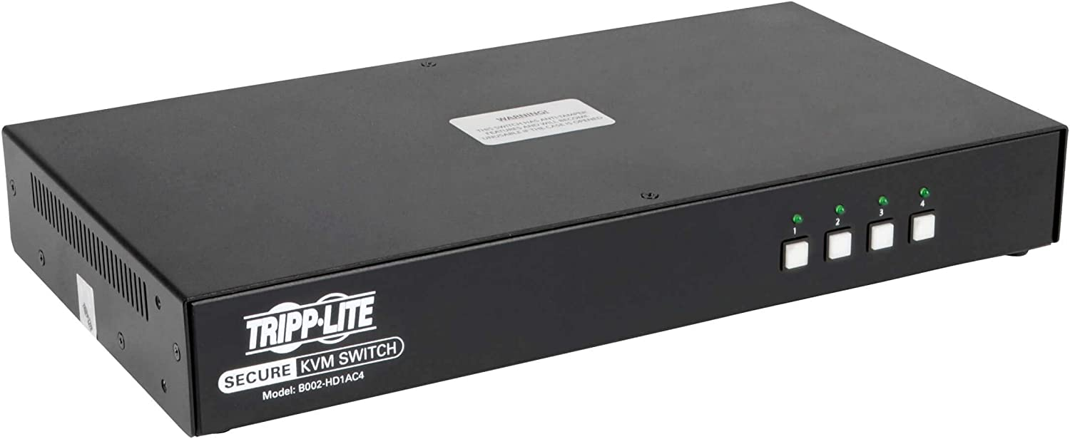 Secure KVM Switch 4-Port Ranking TOP6 HDMI DP Sales results No. 1 CAC Pp3.0 Certified W Niap