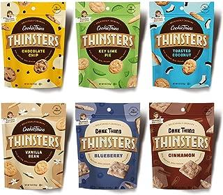 Thinsters Cookies Variety Pack, 4/5 Oz (Pack Of 6)