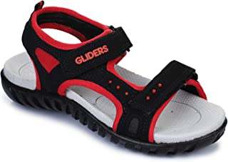 Gliders (From Liberty) Unisex Conner Red Sandals and Floaters - 4 UK/India (37 EU) (8072043120370)