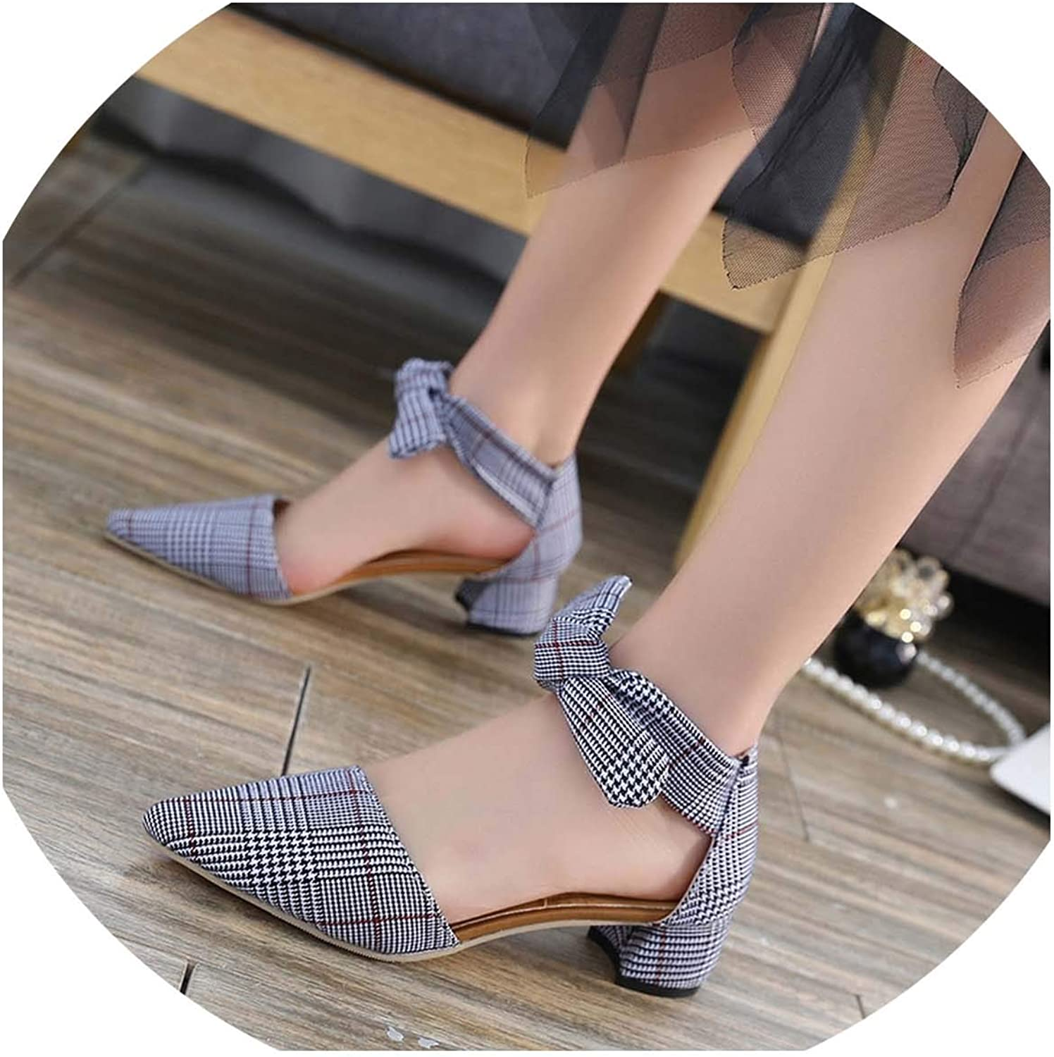 HuangKang 2019 Fashion Sexy Fish Mouth Hollow Roman Sandals Thick High Heels Female Summer Sexy Female Sandals