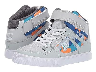 DC Kids Pure High-Top SE EV (Little Kid/Big Kid) (Multi) Boys Shoes