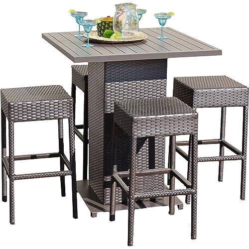 Sensational Barstool Outdoor Table Set Amazon Com Download Free Architecture Designs Scobabritishbridgeorg