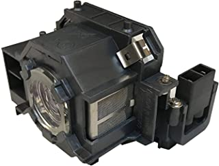 CJD ELP42 Replacement Projector Lamp for Epson Powerlite 83 83+ 83C 83H 410W 822P 822+ 83V+ EMP-83H EX90 ELPLP42 V13H010L42 Projector Lamp Bulb Replacement