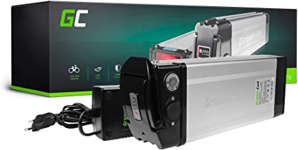 GC® Batería E-Bike 24V 14.5Ah Bicicleta Eléctrica Silverfish Li-Ion con Celdas Panasonic y Cargador E-Totem Pulse Gtech Scott