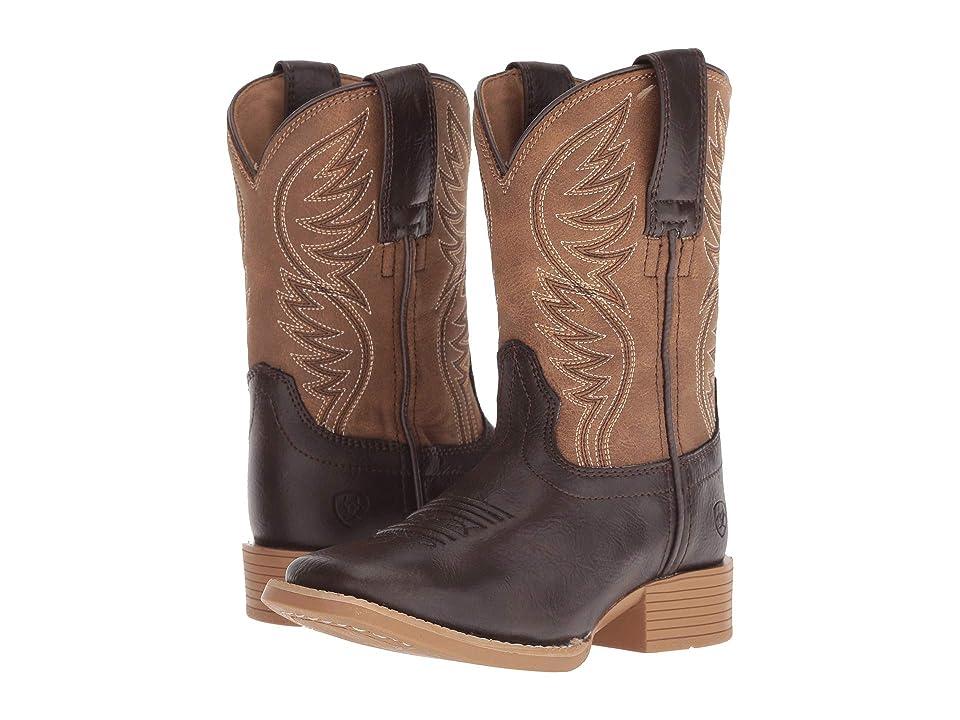 Ariat Kids Brumby (Toddler/Little Kid/Big Kid) (Fudgesickle/Tumblin Tan) Cowboy Boots