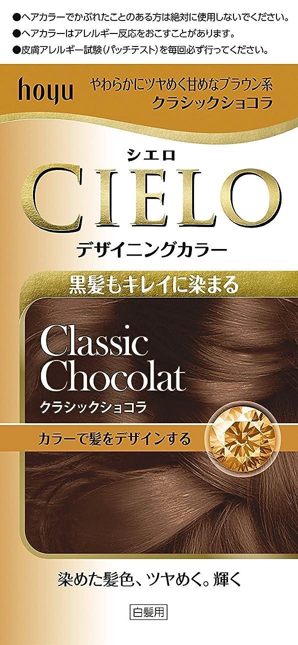 抵抗ピアニストつらいホーユー シエロ デザイニングカラー (クラシックショコラ) ×3個