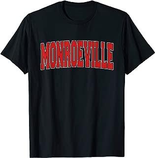 MONROEVILLE PA PENNSYLVANIA Varsity Style USA Vintage Sports T-Shirt