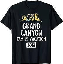 Grand Canyon Family Vacation 2018 T Shirt - Arizona Souvenir T-Shirt
