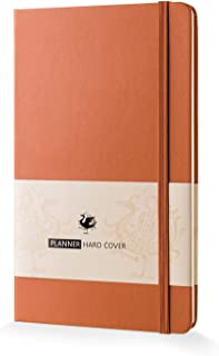 """Hardcover Planner 2019, Daily Weekly Monthly Personal Organizer-5""""x8.2"""""""