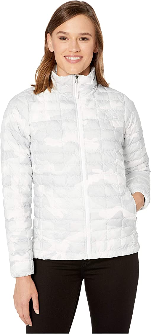 TNF White Waxed Camo Print