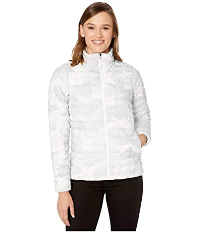 The North Face ThermoBalltm Eco Jacket (TNF White Waxed Camo Print) Women