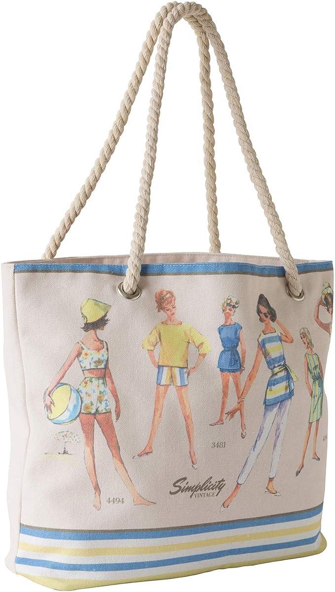 Bolsa de estilo vintage simplicidad