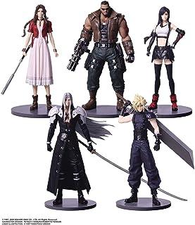 SquarEnix Final Fantasy VII Remake: Cloud, Sephiroth, Barret, Tifa, Aerith Mini Trading Arts Figurines