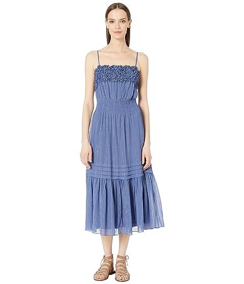 Rebecca Taylor Sleeveless Lurex Tank Dress