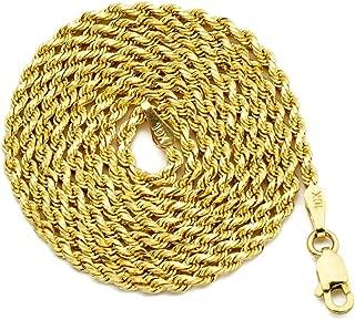 0.60 Diameter MR BLING 10K Yellow Gold Diamond Cut Round Nugget Earrings