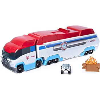 Paw Patrol 6053406 Launch'N Haul PAW Patroller, Transforming 2-in-1 Track Set for True Metal Die-Cast Vehicles (2019)