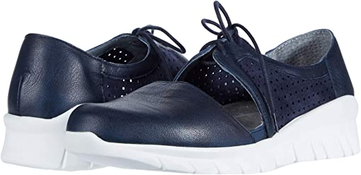 Soft Ink Leather/Navy Suede Perforated/Navy Velvet Nubuck