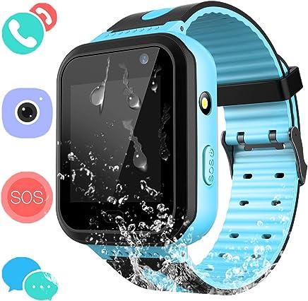 Kids Waterproof Smart Watch Phone - Boys & Girls IP67...