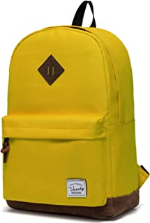 82ce4da30 Vaschy Classic Lightweight Water Resistant Girls School Backpack Travel  Backpack fits 15-Inch Laptop (