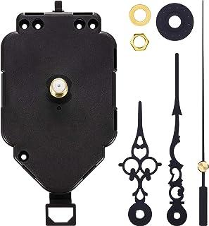 Hicarer Movimiento de Reloj Pendulum Kit de Movimientos de Cuarzo Reemplazos Mecanismos de Movimiento (Eje de 0,9 Pulgada de Largo)