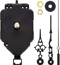 Hicarer Pendulum Clock Movement Quartz DIY Movement Kits Replacement Pendulum Clock Movement Mechanism