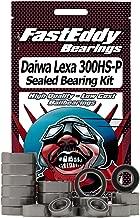 Daiwa Lexa 300HS-P Baitcaster Complete Fishing Reel Rubber Sealed Bearing Kit