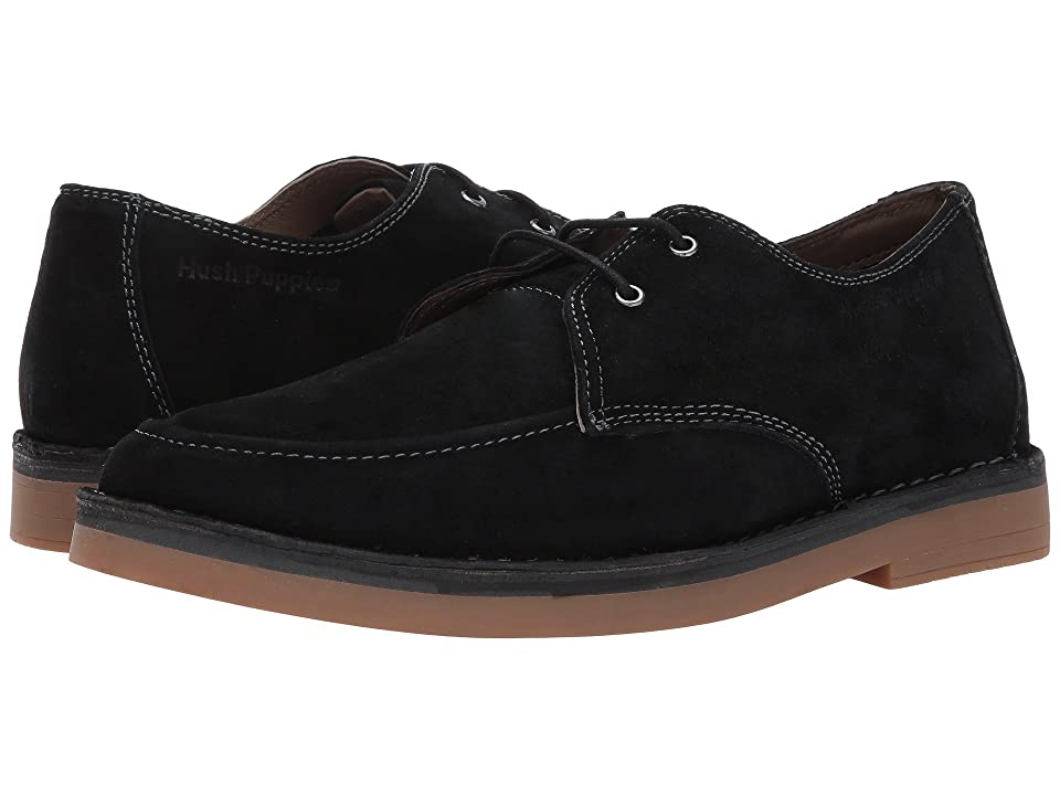Hush Puppies VP Mercer (Black Suede) Men